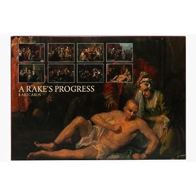 A Rake's Progress' Postcard Set