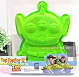 Disney Toy Story Little Green Men Alien Silicone Jello Cup Cake Mold Baking Pan