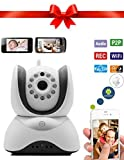 Palermo Wi-Fi Video Baby Monitor Will Keep You Connected To Your Love Ones And Keep Your Worries At Bay! HD Wifi IP Surveillance Camera Will Surpass Your Expectations With No Risk Lifetime Warranty!