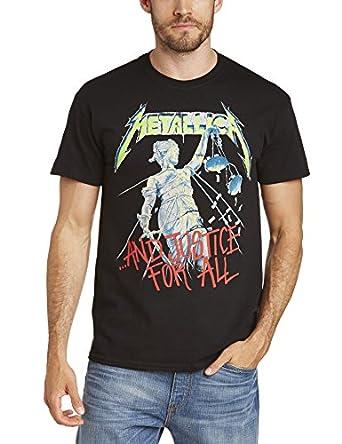 Collectors Mine Herren T-Shirt Metallica-And Justice For All, Gr. 46 (S), Schwarz (Schwarz)