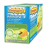 Emergen-C Immune Plus System Support, 1000mg, 30/BX, Citrus