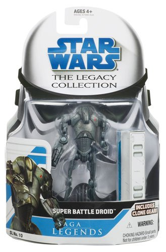 super battle droid star wars saga legends assortment fi (style and colors may vary) - 1