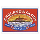 England Glory Original Quality Matches 100 boxes