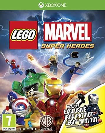 LEGO Marvel Super Heroes - Iron Patriot Minifigure Limited Edition (Xbox One)