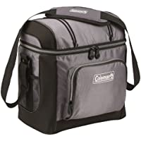 Coleman 16-Can Soft Cooler With Removable Hard Liner (Gray)