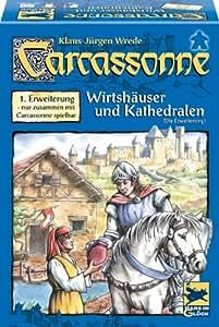 """Hans im Glück 48131 - Carcassonne 1. Erweiterung """"Wirtshäuser & Kathedralen"""""""
