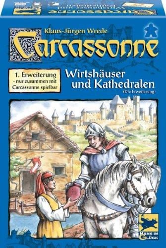 """Hans im Glück 48131 – Carcassonne 1. Erweiterung """"Wirtshäuser & Kathedralen"""""""