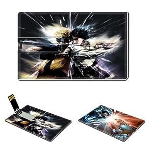 Naruto Naruto Uzumaki Anime Comic Games ACG Customized USB Flash Drive 4GB