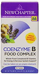 New Chapter Coenzyme B Food Complex, 30 Tablets