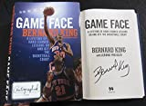 Bernard King signed Book Game Face: A Lifetime of Hard-Earned Lessons On and Off the Basketball Court 1st Print