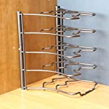 Deco-Brothers-Pan-Organizer-Rack-Bronze