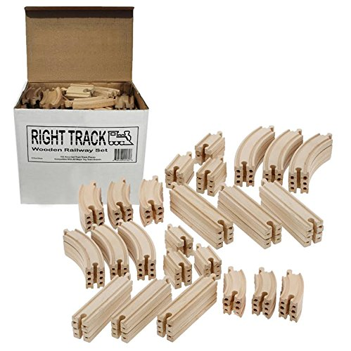 Wooden Train Track Piece Pack