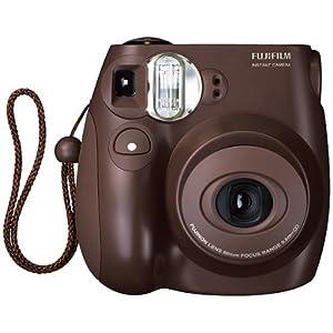 Fuji Instax camera chocolate model Fuji mini 7s instant camera