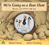 We're Going on a Bear Hunt Book and DVD Gift Set Michael Rosen