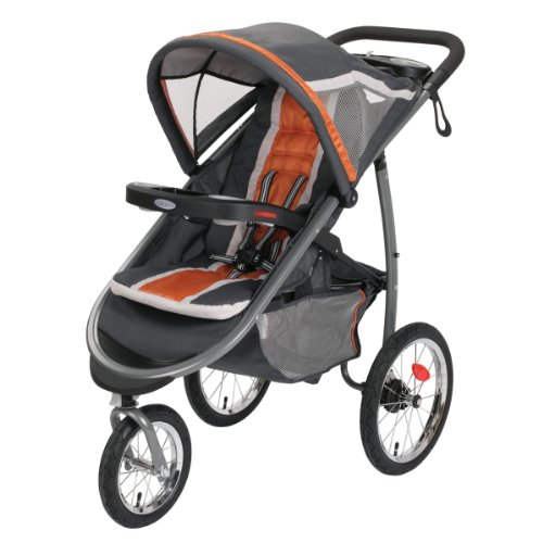 Find Cheap Graco FastAction Fold Jogger Click Connect Stroller, Tangerine