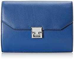 Ivanka Trump Hopewell Clutch, Cobalt, One Size