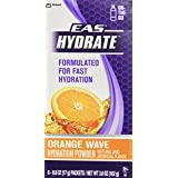 EAS Hydrate Stickpack Workout Hydration Powder, Orange, 6 count