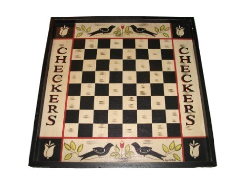 Blackbird-Checkers-Sign-Primitive-Country-Rustic-Gameboard-by-Kennedys-Country-Collection