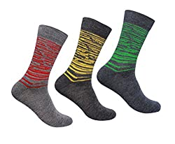 Supersox Mens Winter Socks Design Pack of 3