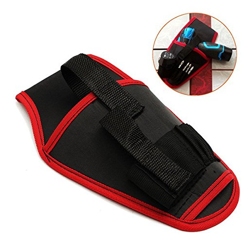 (12503-i) PORTABLE DRILL HOLDER POUCH CORDLESS TOOL FOR DRILL WAIST