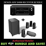 Denon AVR-X4000 7.2-Channel 4K Receiver & Definitive Tech. ProCinema 400 Spkr System