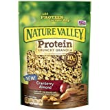 Nature Valley Protein Crunchy Granola, Cranberry Almond (Pack Of 2)
