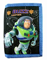 Disney Toy Story Buzz Lightyear Trifold Wallet - Buzz Wallet Black