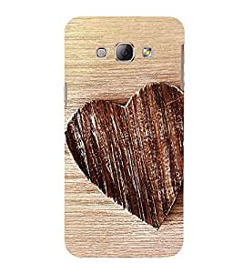 Heart 3D Hard Polycarbonate Designer Back Case Cover for Samsung Galaxy A8 (2015 Old Model) :: Samsung Galaxy A8 Duos :: Samsung Galaxy A8 A800F A800Y