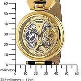 Stuhrling Original Men's 127A.333531 Emperor's Grandeur Automatic Skeleton Goldtone Dial Watch