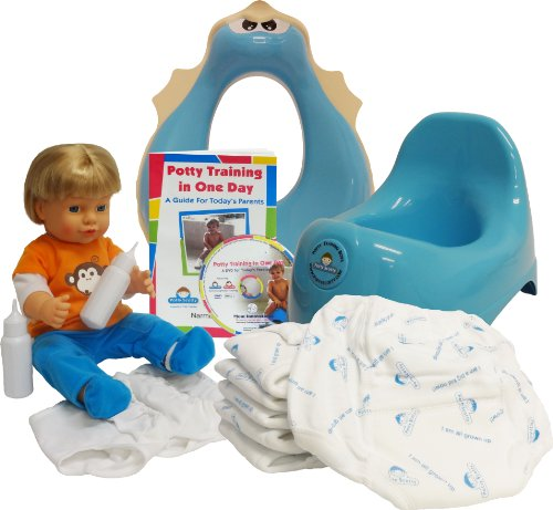 Potty Training In One Day - The Complete System For Boys. front-812098