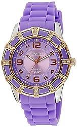 Q&Q Analog Purple Dial Womens Watch - DA39J505Y