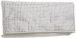 BCBGeneration Lola Clutch (Silver Crystal)