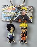 Naruto & Sasuke - Naruto Shippuden Nazono Teki Twin Figure Mascot Keychain