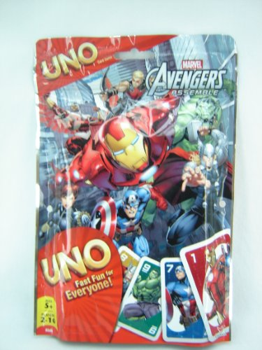 UNO Marvel Avengers Assemble Card Game