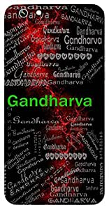 Gandharva (Musicians Of Gods) Name & Sign Printed All over customize & Personalized!! Protective back cover for your Smart Phone : Moto G-4