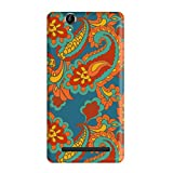 Garmor Ethnic Design Plastic Back Cover For Sony Xperia C3 (Ethnic 2)