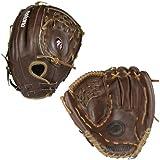Nokona AMG700 13.5-Inch Closed Web Walnut Leather Baseball Glove (Right-Handed Throw)