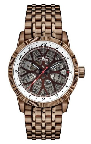 Richtenburg Montre Homme Speedwheel marron IP R12000