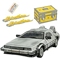 Diamond Select Toys Back To The Future: Iced Time Machine Collectors Set Vehicle By Diamond Select