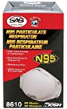 SAS SAFETY 8610 Particulate Respirator N95 (Box of 20)