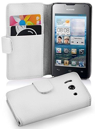cadorabo-custodia-book-style-design-portafoglio-per-huawei-ascend-y300-con-vani-di-carte-etui-case-c