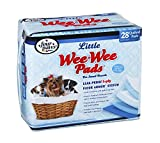 Four Paws Wee-Wee Housebreaking Pads for Little Dogs, 28-Pack
