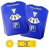 2er Set Parkscheibe Parkuhr fürs Auto mit...