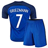 Équipe de France de football Uniform-Set Replica Griezmann (Tee-shirt + Shorts)