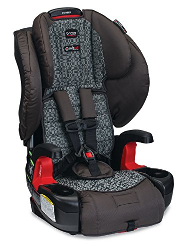 Britax Pioneer G1.1 Harness-2-Booster Car Seat, Silver Cloud image