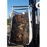TOP Qualität direkt vom Hersteller +++ 5er Pack HolzBag 160cm, Kaminholzsack / Brennholzsack / Woodbag