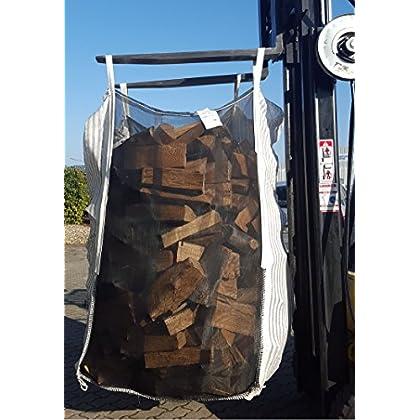 TOP Qualität direkt vom Hersteller +++ 10er Pack HolzBag 160cm, Kaminholzsack / Brennholzsack / Woodbag direkt...