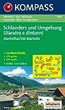 Schlanders und Umgebung / Silandro e dintorni 1 : 25 000: Martelltal / Val Martello. Wandern, Rad, Skitouren / Escursioni, Bike, Sci alpinismo. GPS-genau Picture