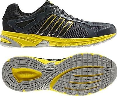 ADIDAS - duramo 5 m - Size 7.5 - Q22311 - Running Shoe Men - Black/Yellow by Adidas