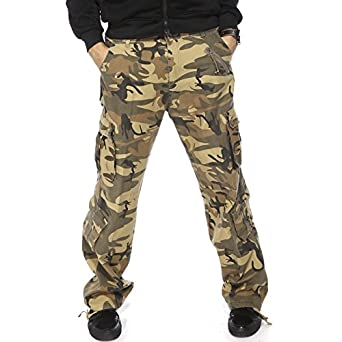 pantalon long cargo combat militaire homme bas pant de. Black Bedroom Furniture Sets. Home Design Ideas